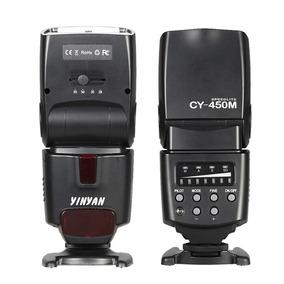 Cy -450m Speedlite Gn36 Sem Fio Sincronização Flash M / A /