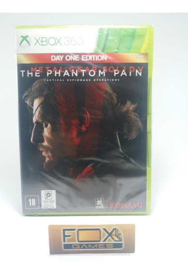 Xbox Jogo Metal Gear Solid 5: The Panthom Pain
