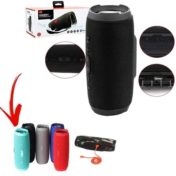 Caixa De Som Bluetooth Charge 3