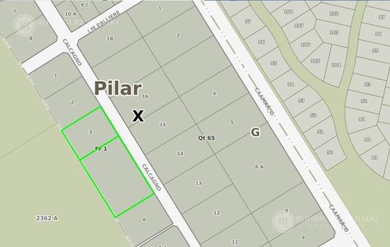 Terreno - Villa Rosa, Pilar, Lote, Oportunidad Paralela A Calle Caamaño