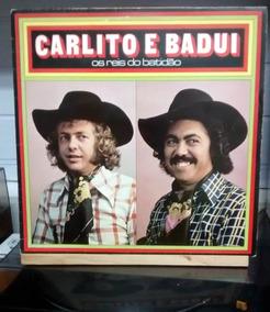 Lp Vinil Carlito E Badui 1975 Os Reis Do Batidão