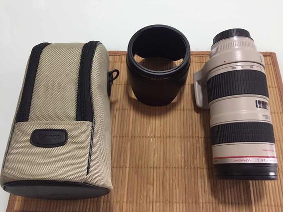 Lente Canon 70-200mm 2.8 L - Praticamente Zero