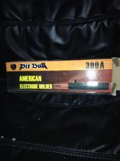 Pinza Porta Electrodo Marca Pit Bull 300 Amp