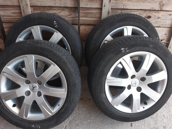 Llantas De 308 Rod 16 Michelin Con35mil Km