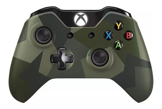 Controle Microsoft Armed Forces Xbox One Pronta Entrega