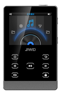 Jwd Jwm-107 16 Gb Mp3 Player Metal Hifi Music Player Dac Ape