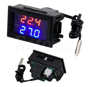 Termostato Digital Controle De Temperatura W1209 12v Led