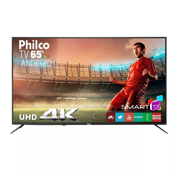 Smart Tv Led 65 Philco Ptv65a11dsgwa Ultra Hd 4k Com 3 Hdmi