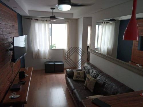 Apartamento À Venda, 49 M² Por R$ 180.000,00 - Condomínio Parque Sicília - Votorantim/sp - Ap8940