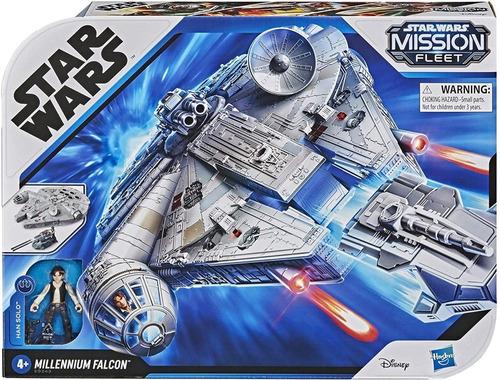 Imagen 1 de 5 de Juguete Star Wars Mission Fleet Millennium Falcon