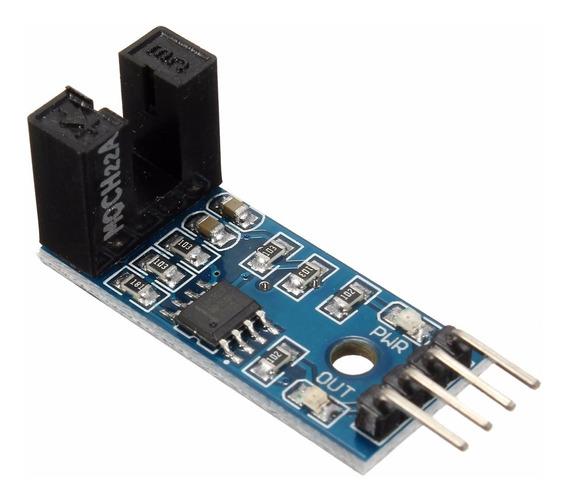 Sensor Velocidade Módulo Encoder Acoplador Óptico Arduino Pi