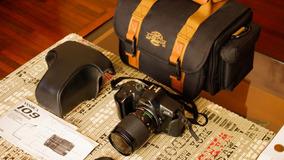 Câmera Yashica 109 + Acessórios
