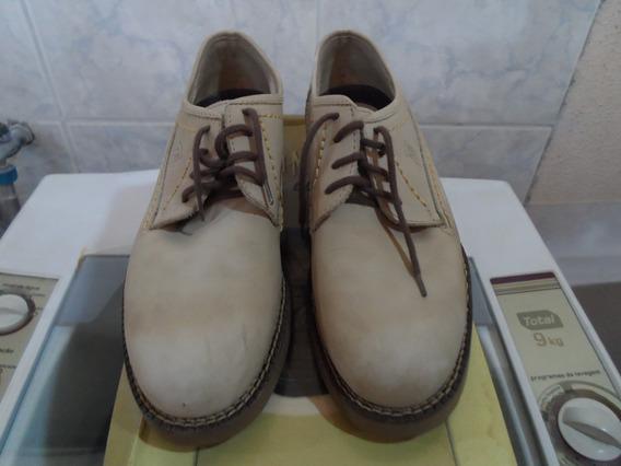 Sapato San Marino Camurça Numero 37. Usado 1 Vez.