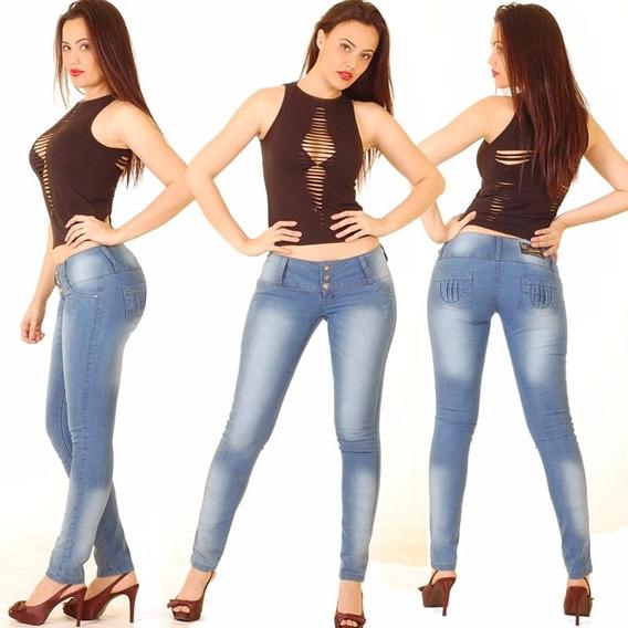 Calça Jeans Mr X Feminina Confortável Stretch #zuu