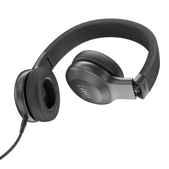 Fone De Ouvido Headphone Jbl E35 Dobrável Preto Original