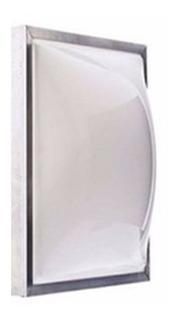 Domos Claraboia Telhado Acrilico Branco Leitoso 70x70cm