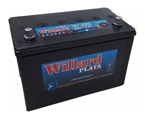 Imagen 1 de 6 de Bateria Willard Ub930 12x100 Toyota Hilux Srw4 Envios A Caba