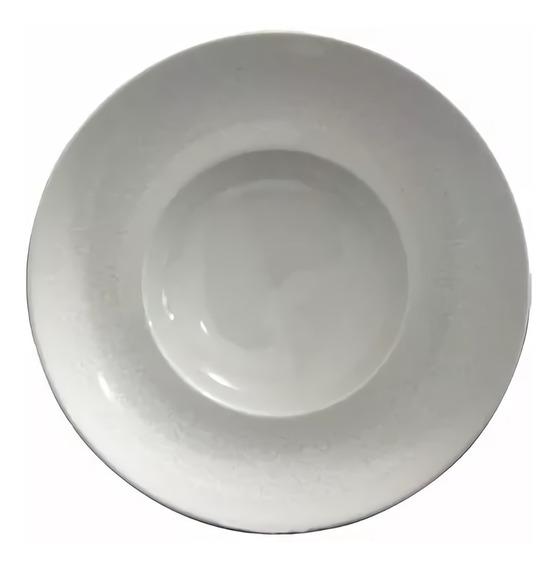 Plato Hondo Ala Ancha Germer Pastas Porcelana 26 Cm