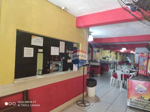 Restaurante À Venda No Alecrim, 260 M² Por - Alecrim - Natal/rn. - Pt0008