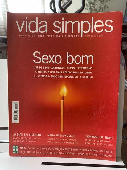 Revista Vida Simples Ed 16 Maio 2004 Sexo Bom