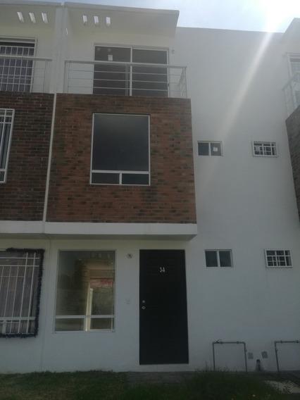 Remato Casa Nueva 3 Niveles Privada En Residenza Coacalco