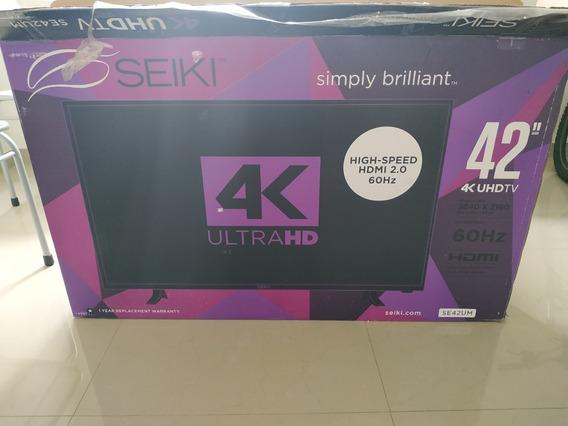 Televisor Seiki 42 Pulgadas 4k Se42um