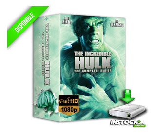Serie The Incredible Hulk [1080p] Completa Ultrahd Digital