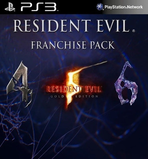 Resident Evil Franchise Pack (4,5,6) Ps3 | Digitalessn