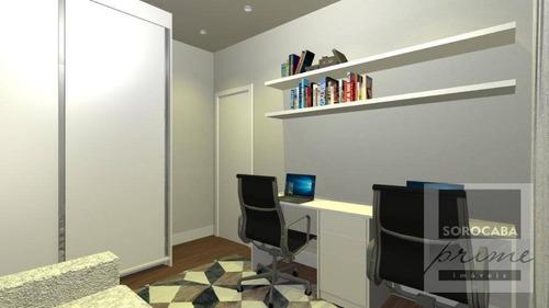 Casa Com 3 Dormitórios À Venda, 156 M² Por R$ 820.000,00 - Condomínio Ibiti Reserva - Sorocaba/sp - Ca0112