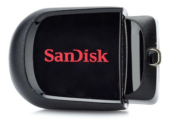 Genuíno Sandisk Cruzer Fit Mini Usb 2.0 Flash Distância -