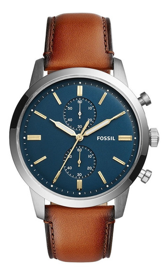 Relógio Fossil Masculino Townsman Analógico Cronográfo
