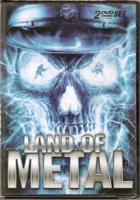 Dvd Duplo Land Of Metal - Lacrado - Frete Grátis