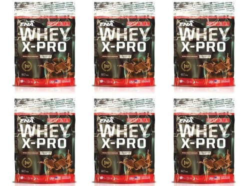Whey Protein X Pro 453g X 6 Mundo Gym Gran Oferta