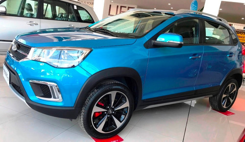Chery Tiggo 2 Luxury 1.5 Mt 0 Km. 2021 Azul Nafta