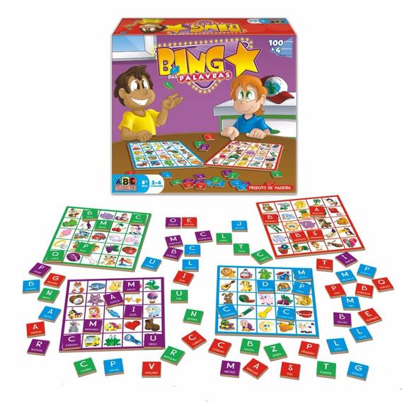 Bingo Das Palavras - Brinquedo Educativo