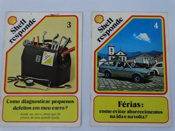 2 Revistas Shell Responde Nº 3 E 4 Perfeitas Frete Grátis