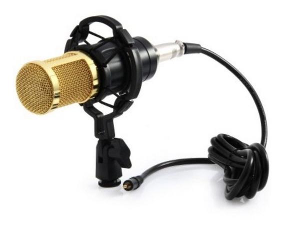 Microfone Condensador Bm 800 Podcast Bm800 Studio Gravação