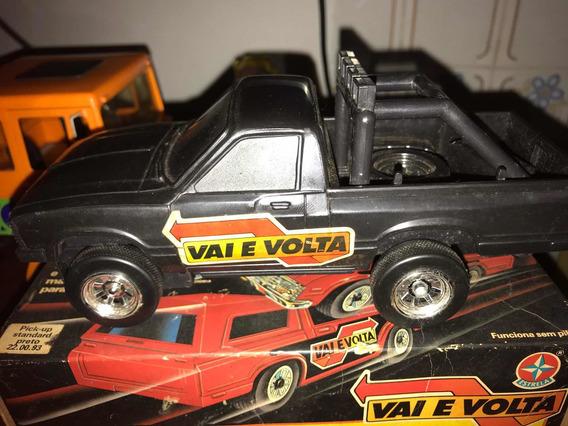Carro Vai E Volta Estrela Brinquedo Antigo