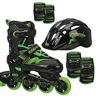 Roller Derby Carver Boys Inline/protective Skate Pack Mediu