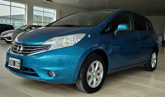 Nissan Note Advance Pure Drive Nafta 1.6 2015 Azul 5 Ptas