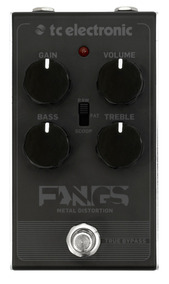 Pedal Distortion Fangs Metal - Tc Electronic