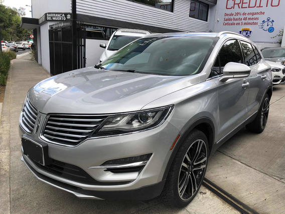 Lincoln Mkc 2.3 Reserve Awd 2017 49000 Km Plata 4 Puertas