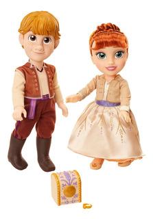 Set De 2 Figuras Anna Y Kristoff Disney Frozen 2