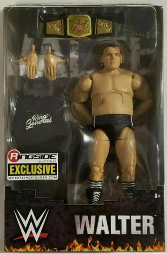 Imagen 1 de 7 de Figura Walter Wwe Elite Ringside Exclusive Mattel Lucha Libr