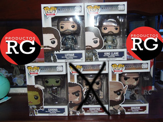 Pop! Movies - Warcraft - 284- 285 - 286 -288 *