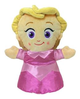 Juguete Titere Mano Plush Princesas Frozen Disney Babymovil