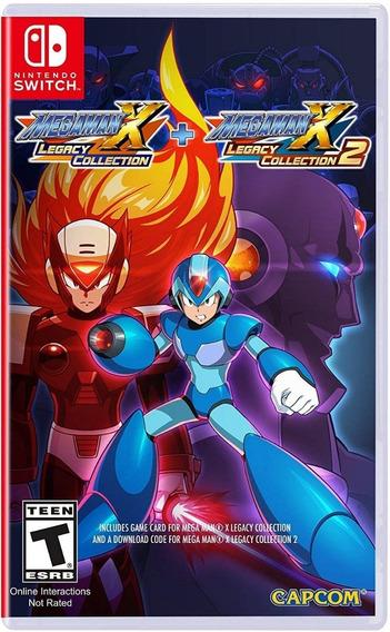 Mega Man X Legacy Collection 1+2 - Mídia Física Novo Switch