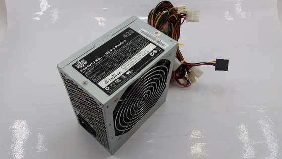 Fonte Atx Cooler Master 400w Rs-400-psar-j3 (327,9w Real)
