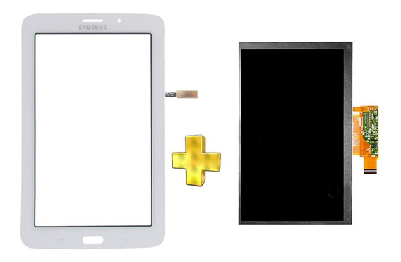 Kit Touch E Display Tela Samsung Galaxy Tab 3 V T116 Branco