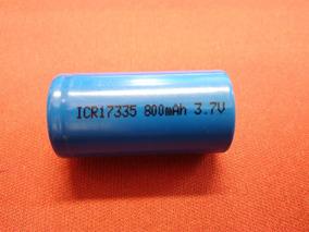 Bateria Icr17335 Recarregável Pra Pistola Taser